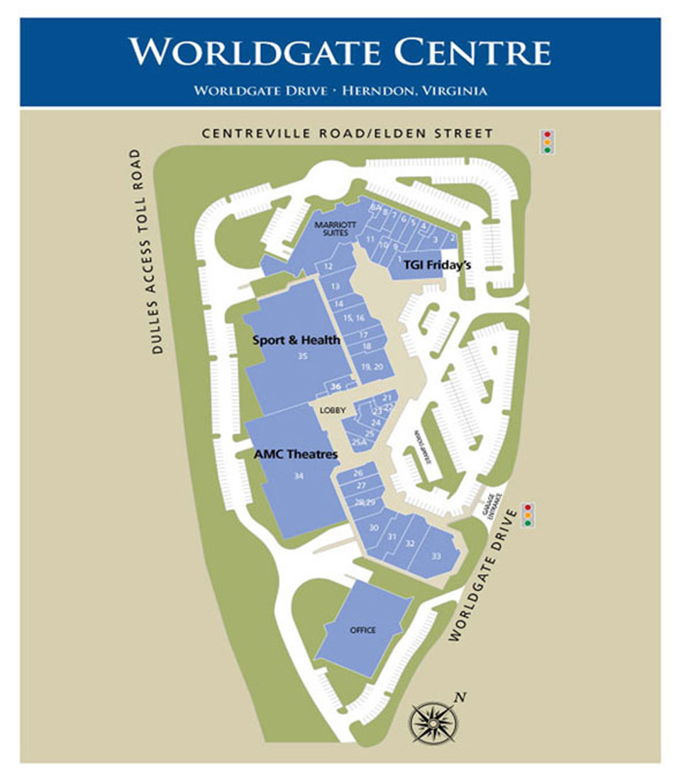 Worldgate Centre Directory Map
